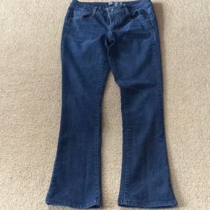 Wit & wisdom jeans medium wash skinny boot size 4